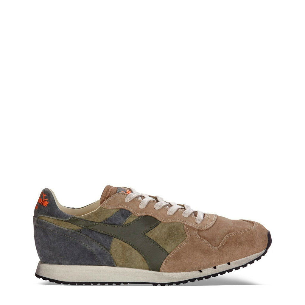shoes Diadora Man Trident_S_ Sw _C6361_ Green Green Heritage Suede Leather