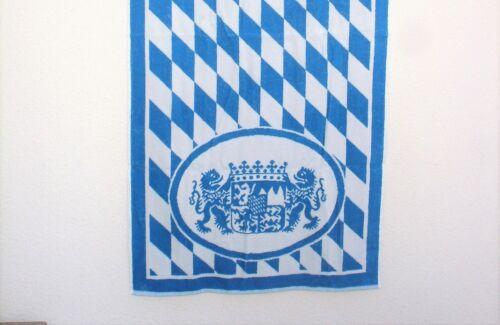 Bayern 100 /% BW. Orginal 1 qm Freistaat Bayern -Größe 72 x 148 cm Handtuch