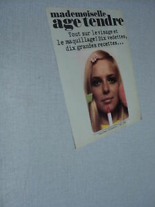 B188-FRANCE-GALL-039-1968-FRENCH-CLIPPING