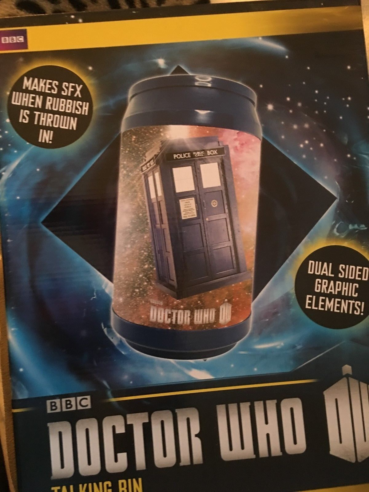 Doctor Doctor Doctor who   11th doctor and tardis talking bin c22678