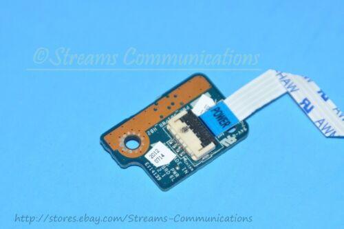 "TOSHIBA Satellite L875D-S7342 17.3/"" Laptop Power Button Board w// Ribbon Cable"