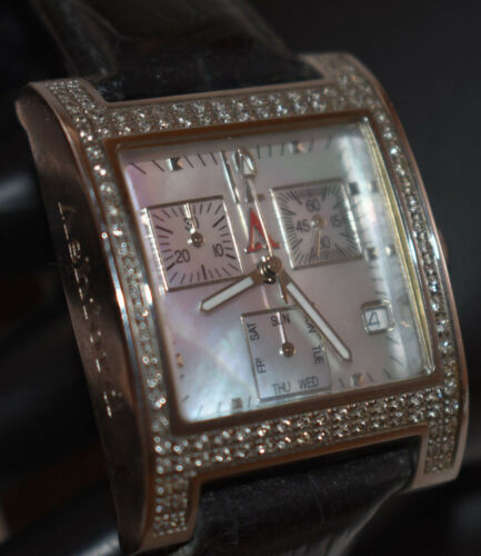 Ashford SCD 3210 Sophia Diamond Mother of Pearl Femme Montre Chronographe Nouveau Batt!
