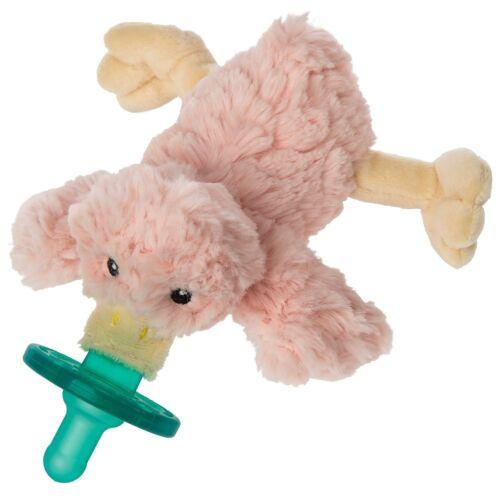 Mary Meyer WubbaNub Infant Pacifier Blush Putty Duck