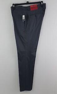 Alfani-Men-039-s-Slim-Fit-Flat-Front-Sateen-Pants-Kettle-Gray-18507KT436