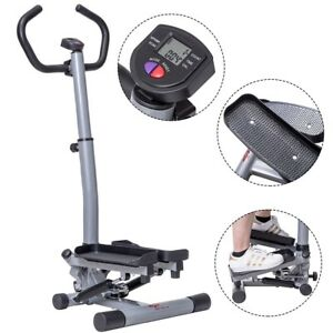 Fitness-Workout-Exercise-Stair-Stepper-Machine-Cardio-Equipment-W-Handle-Bar-US