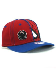 4f329d5b2f26d New Era Spider-Man 9forty Adjustable Youth Hat Marvel Comics Kids ...