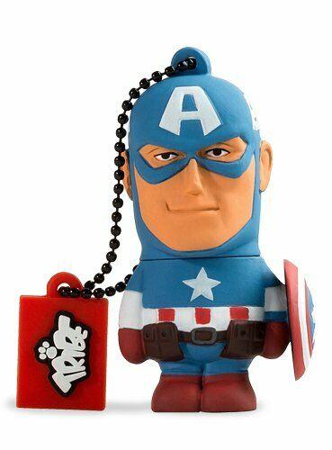 Tribe 8GB USB Captain America Marvel The Avengers Flash Drive FD016401 Maikii