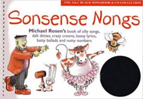 1 of 1 - Sonsense Nongs Michael Rosen Silly Songs Loony Lyrics Piano Book & CD S168