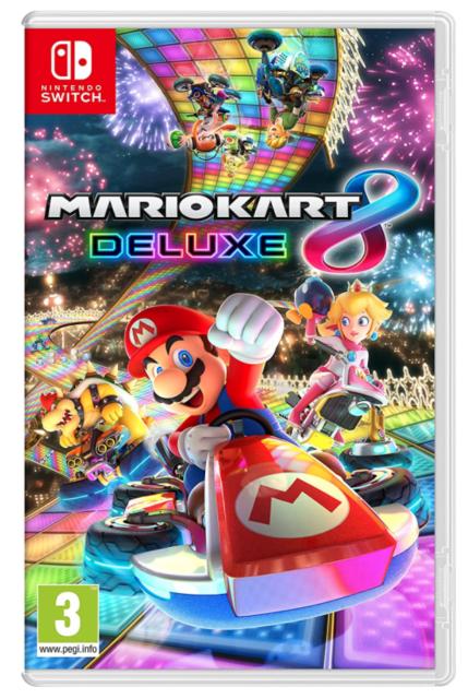Mario Kart 8 Deluxe - Nuovo Italiano Nintendo Switch CORSE AUTOMOBILISTICHE PAL