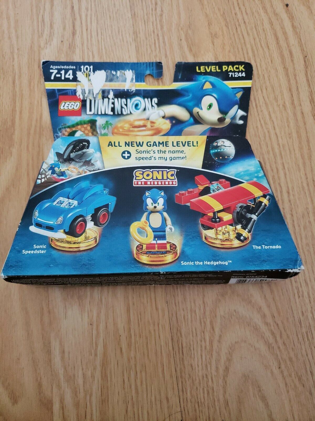 Lego Dimensions Sonic Level Pack For Sale Online Ebay