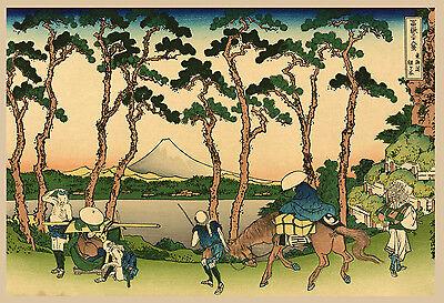 Japanese Art Print Dawn At Isawa In Kai Province Fine Art Reproduction Ebay