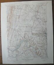 1946 Map WINDSOR LOCKS CONN. War Department Geological Survey 17x21""