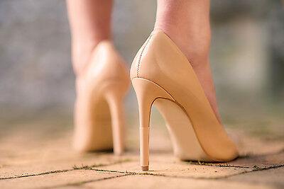 Limpiar Tacones heelsleeves Paquete de 3-Protectores de Tacón Alto Zapatos De Novia-Libre P&P