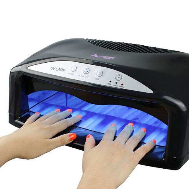 Professional 54w UV Nail Dryer Machine GEL Light Lamp Timer Art ...