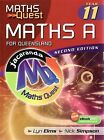 Maths Quest: Year 11 Maths A for Queensland by Lyn Elms (Paperback, 2008)