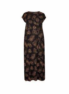 Ex-DOROTHY-PERKINS-Curve-Leaf-Wrap-Maxi-Dress-UK-24-US-20-EUR-52-TS61-5
