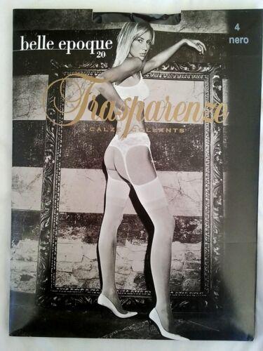 Nieuwe Bella Panty Jarretellegging Black Epoque Maat Trasparenze Xl Den 20 qqSCBfx
