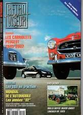 "RETROVISEUR #171 ""Cabriolets Peugeot,Traction,Rols Royce,Lincoln,Vespa 400""REVUE"