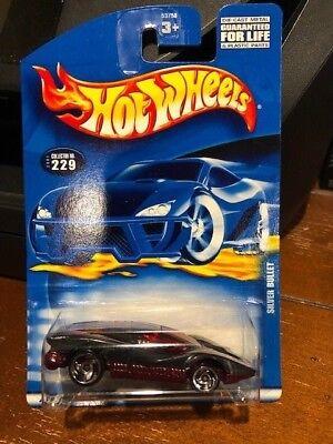 2001 Hot Wheels Silver Bullet #229