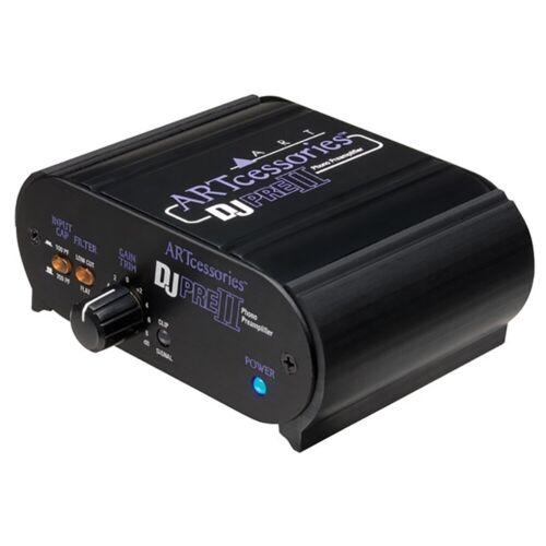 ART Pro Audio DJ PRE II Phono Preamplifier Turntable Interface Preamp w// RCA