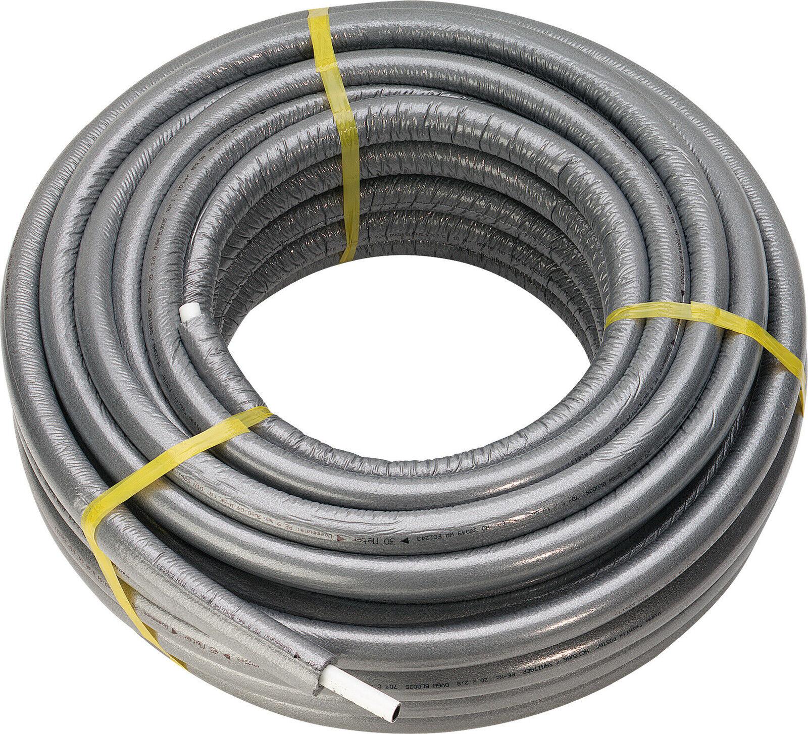 JRG SANIPEX-MT-Rohr isoliert  16   20  und 26mm(in 50 mtr. Rolle) 6mm gedämmt