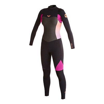 Roxy Syncro 3/2mm Flatlock Back Zip Women's Full Wetsuit