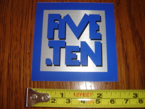 5.10 Five Ten Climbing Shoes Sticker Decal