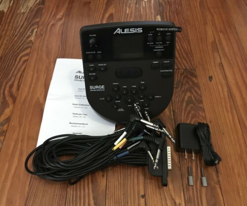 Power Supply /& Screw Drums Wiring Harness Alesis Surge Module NEW w//Snake Cable
