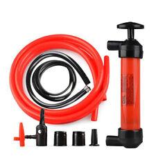 Siphon Hand Pump Transfer Car Manual Gas Oil Liquid Syphon Siphon Pump Kit
