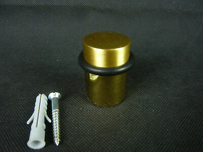 Dekoration Außen- & Türdekoration Intellektuell 1 TÜrstopper Messing 2-teilig Mit Gummiring Ø=30mm H=45mm 176g Bodenbefestigung