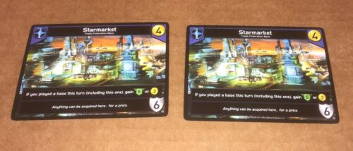 Star Realms Deck Building Game 2x Starmarket Promos