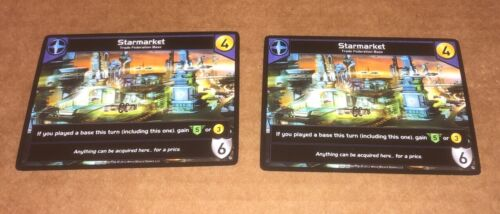 Star Realms Deck Building Game 2x Starmarket Promos