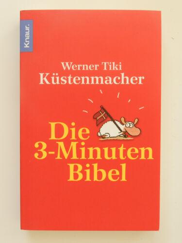 1 von 1 - Werner Tiki Küstenmacher Die 3 Minuten Bibel Knaur