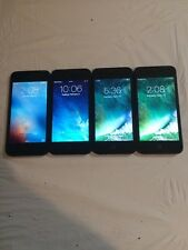 LOT OF 4 TESTED GSM UNLOCKED AT&T APPLE iPhone 5 16GB PHONES 8.5 TO 9.0