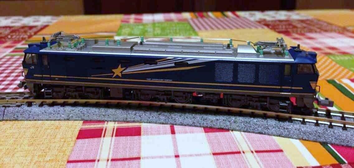 Modellismo dinamico  locomotore Kato EF510 , , , scala N 053f7a