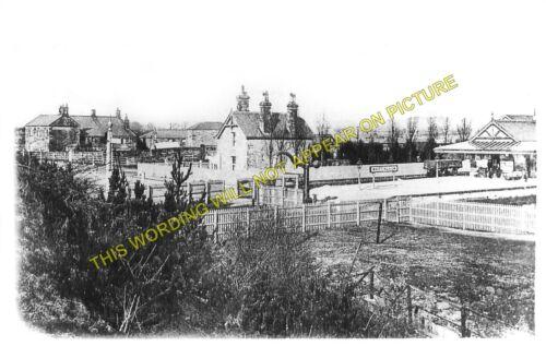 Glanton Whittingham Railway Station Photo Edlingham 3 Alnmouth to Wooler.