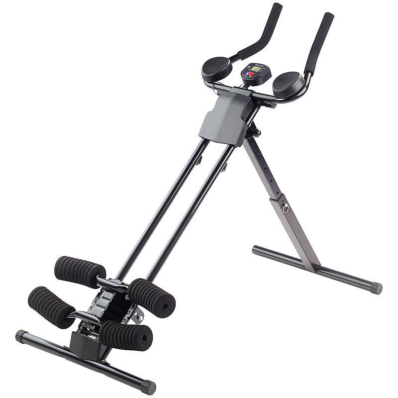 PEARL sports Ganzkörper-Fitness- & Bauchtrainer HT-200 mit Trainingscomputer