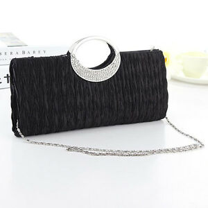 Women-Crystal-Diamante-Evening-Party-Prom-Clutch-Bridal-Wallet-Bag-Purse-New