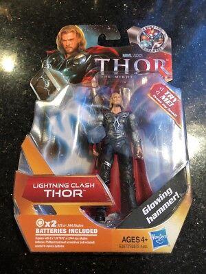 #03 W// Glowing Hammer Marvel Studios Lightning Clash Thor Action Figure