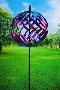Garden Wind Spinner Yard Decor Outdoor Motion Metal Art Kinetic Sculpture 78