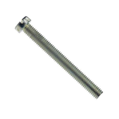 M 3,5 Zylinderschrauben mit Schlitz DIN 84 4.8 Stahl galvanisch verzinkt M 3