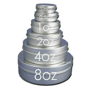 2oz-Flat-Tin-Containers-Round-with-Lids-12-NEW-Candles-Spices-Beads