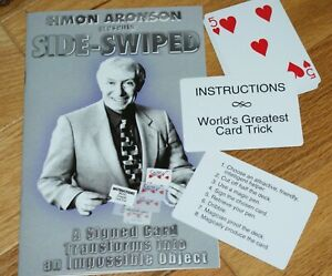 Side-Swiped-Simon-Aronson-surprise-signed-card-in-impossible-location-TMGS