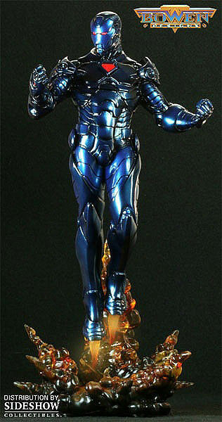 Marvel Stealth Avengers Iron Iron Iron Man Polystone Statue by Bowen Designs (new ) da1323