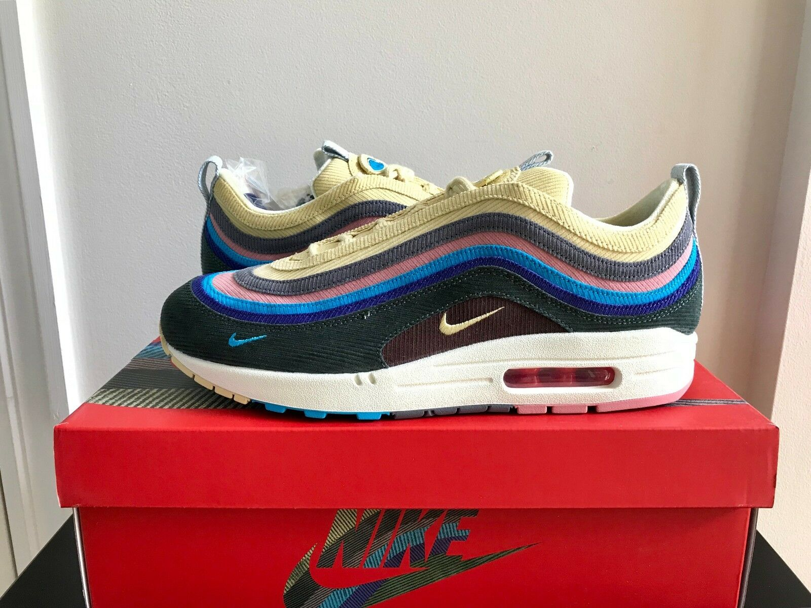 DS BRAND NEW NIKE AIR MAX 1/97 VF SW SEAN WOTHERSPOON QS AJ4219-400 2018