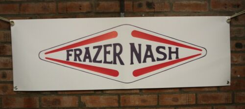 Frazer Nash  large pvc  WORK SHOP BANNER garage
