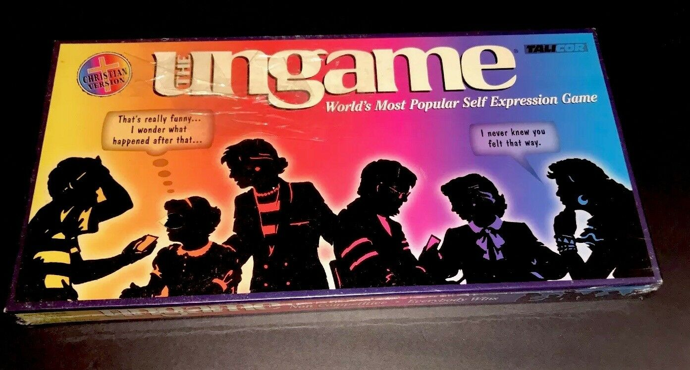 The UnGame vintage Game with thousands answers to questions Christian Version