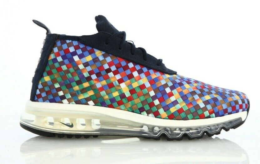 MENS NIKE AIR MAX WOVEN BOOTS SE DARK OBSIDIAN (MULTI COLOR) SIZE 9.5