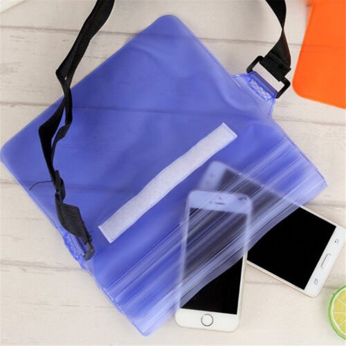 Pouch Bag Waterproof Case With Waist Strap For Beach Swimming Boating Kayakin ZN