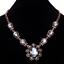 Fashion-Elegant-Women-Rhinestone-Crystal-Choker-Bib-Statement-Pendant-Necklace thumbnail 11
